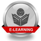 e-learning symbol