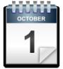 calendar sheet, October 15